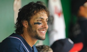 Mike Morse comes over from the Nationals.  He's happy to be in Seattle. Take that Justin Upton!!!