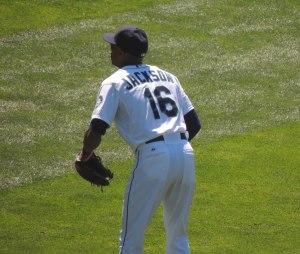 Center fielder Austin Jackson