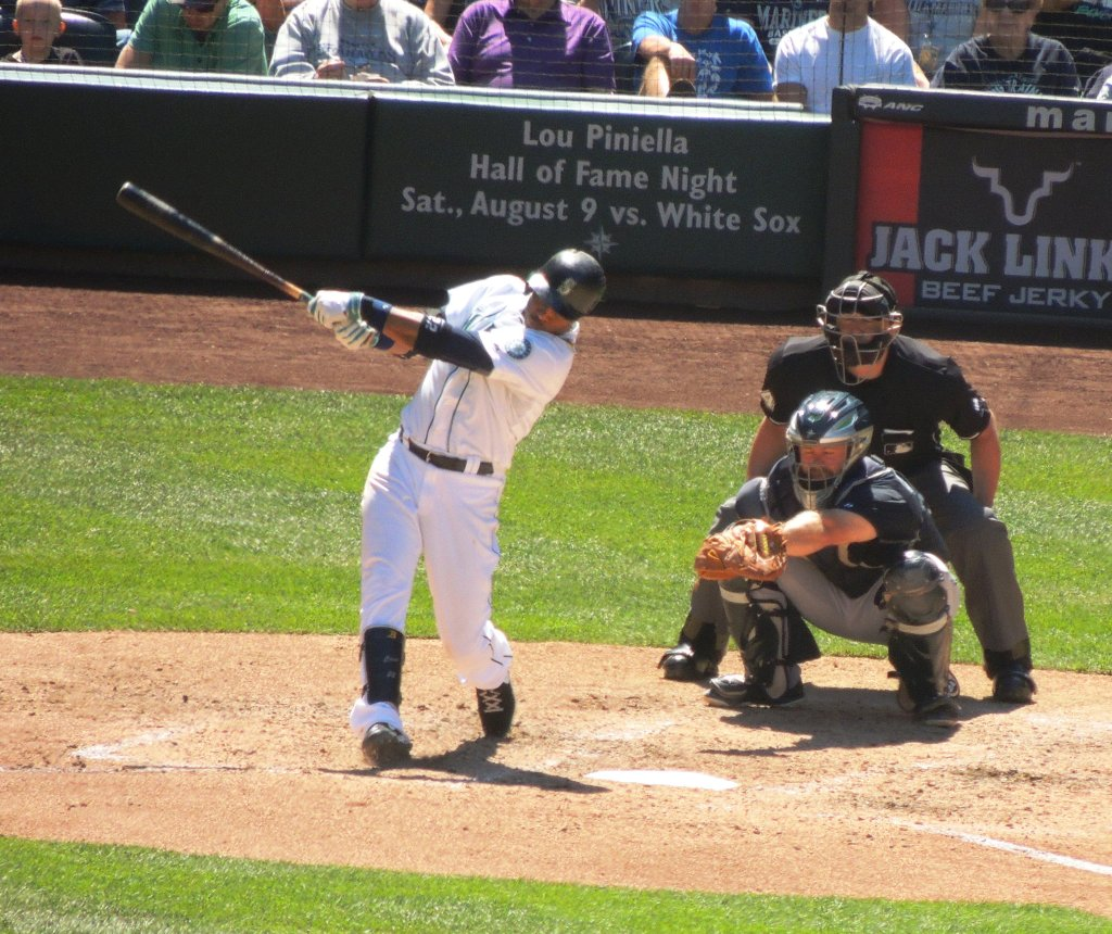 Robinson Cano doubles home Dustin Ackley in the bottom of the first.