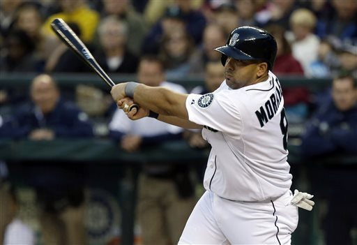 Kendrys Morales was one of the few Mariners bright spots in 2013, but failed to deliver in 2014