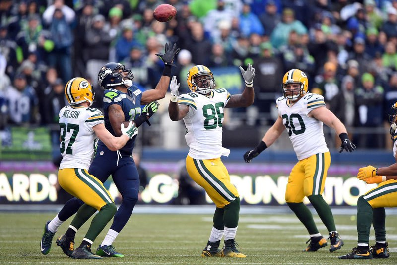 Brandon Bostick will be forever remembered as the guy who muffed the onside kick in the NFC title game.  He wants us to remember he's so much more than that.