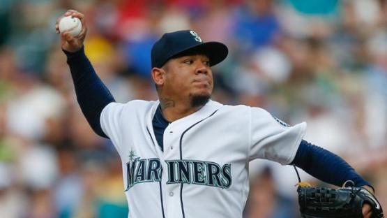 Felix dominates the Blue Jays for 12th victory. Starting pitching will key an M's push for respectability.