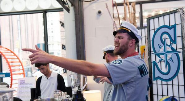 The Bartender as bullpen skipper and enforcer.
