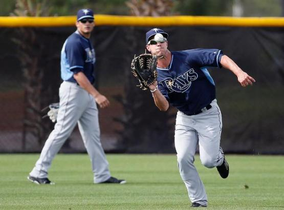 Is Boog Powell the Mariners centerfielder of the future?  If so when?
