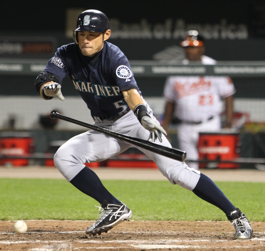 Seattle Mariners right fielder Ichiro Suzuki (51)