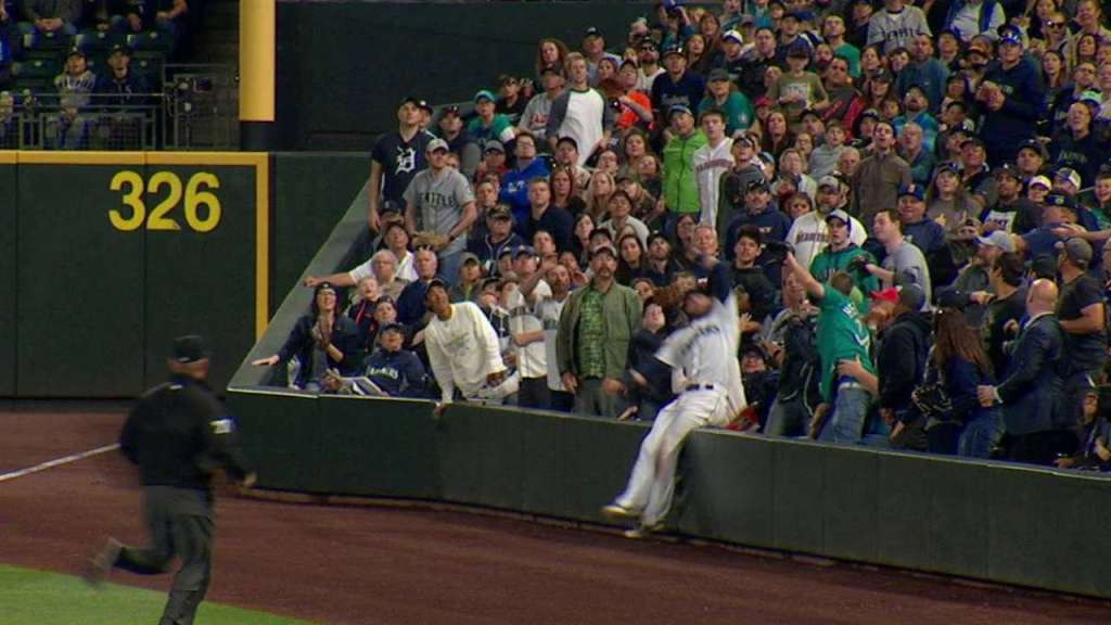 Haniger catch